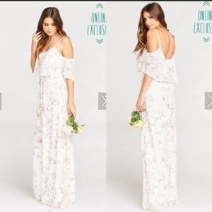Show me your MuMu RUFFLE MAXI DRESS ~ FOREVER VINE